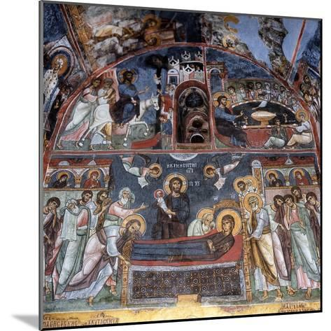 Entry into Jerusalem, Last Supper and Dormition--Mounted Giclee Print