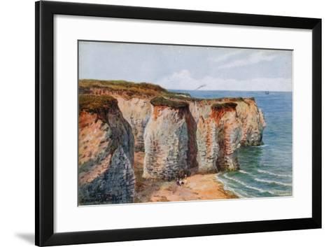 The Cliffs, Birchington-On-Sea-Alfred Robert Quinton-Framed Art Print