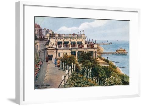 Leas Cliff Hall, Folkestone-Alfred Robert Quinton-Framed Art Print