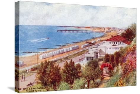 The Bay and Spa Gardens, Felixstowe-Alfred Robert Quinton-Stretched Canvas Print