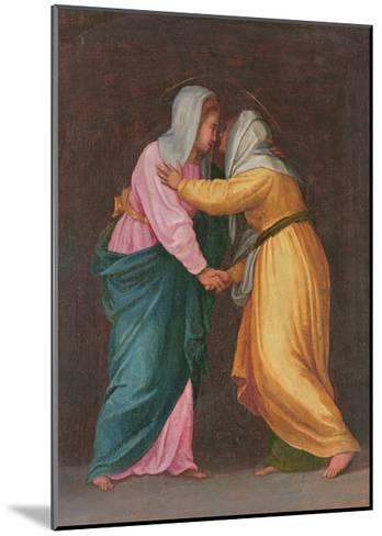 The Visitation, Carro Della Zecca-Jacopo da Carucci Pontormo-Mounted Giclee Print