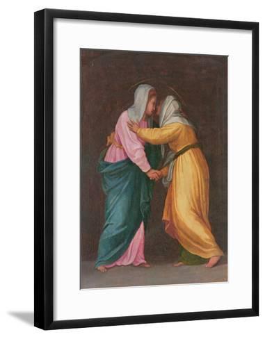The Visitation, Carro Della Zecca-Jacopo da Carucci Pontormo-Framed Art Print