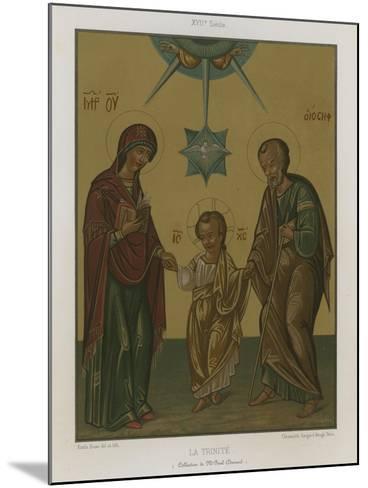 The Trinity--Mounted Giclee Print