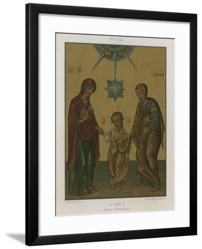 The Trinity--Framed Art Print