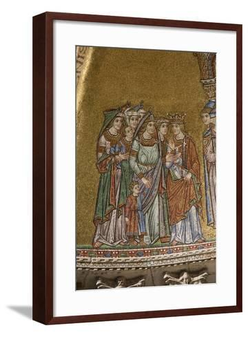 Ceiling Detail, Basilica Di San Marco, Venice--Framed Art Print