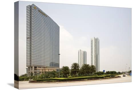Shangri-La Hotel, Pazhou, Guangzhou, China--Stretched Canvas Print