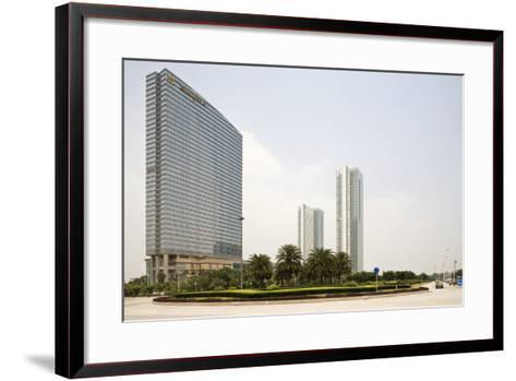 Shangri-La Hotel, Pazhou, Guangzhou, China--Framed Art Print