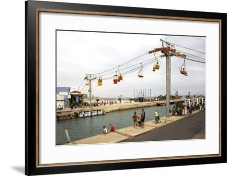 Tanscanal, Palavas-Les-Flots, Herault, France--Framed Art Print