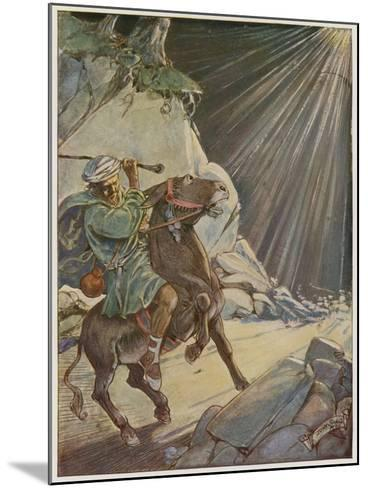 He Took His Staff and Beat the Poor Beast-Tony Sarg-Mounted Giclee Print