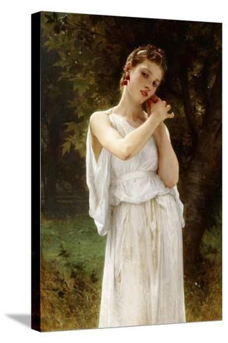 Earrings, 1891-William Adolphe Bouguereau-Stretched Canvas Print