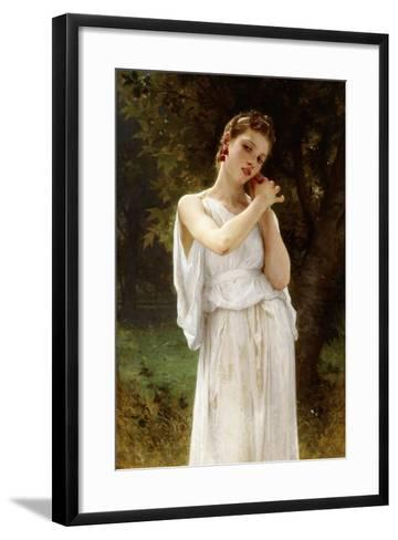 Earrings, 1891-William Adolphe Bouguereau-Framed Art Print