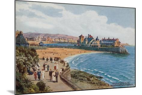 Weston-Super-Mare, Knightstone Pier and Two Bays-Alfred Robert Quinton-Mounted Giclee Print