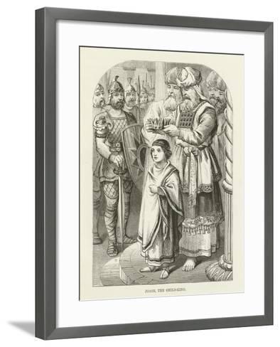 Joash, the Child-King--Framed Art Print