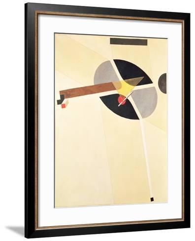 Proun 67-El Lissitzky-Framed Art Print
