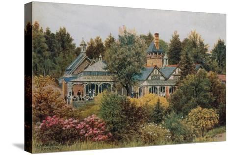 Llandrindod Wells, Rock Spa-Alfred Robert Quinton-Stretched Canvas Print