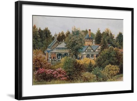 Llandrindod Wells, Rock Spa-Alfred Robert Quinton-Framed Art Print