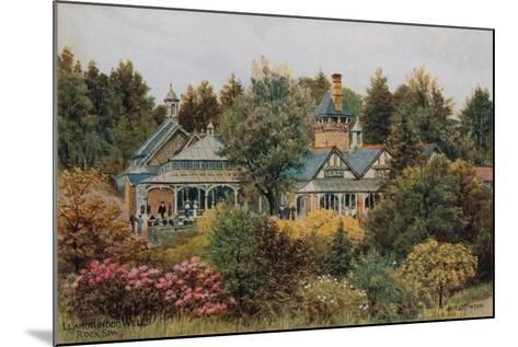 Llandrindod Wells, Rock Spa-Alfred Robert Quinton-Mounted Giclee Print