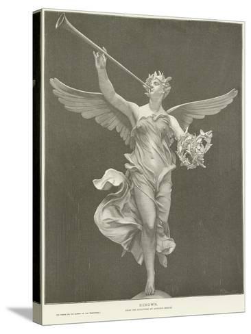 Allegory of Renown-Marius Jean Antonin Mercie-Stretched Canvas Print