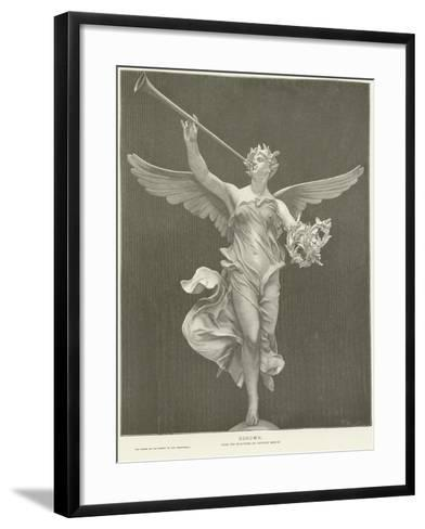 Allegory of Renown-Marius Jean Antonin Mercie-Framed Art Print