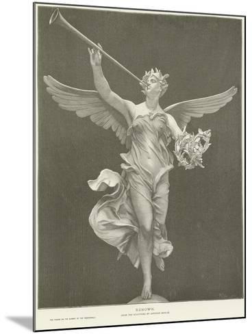 Allegory of Renown-Marius Jean Antonin Mercie-Mounted Giclee Print