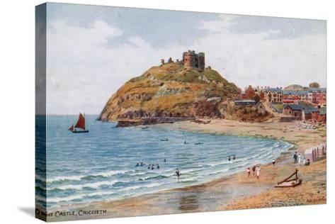 The Castle, Criccieth-Alfred Robert Quinton-Stretched Canvas Print
