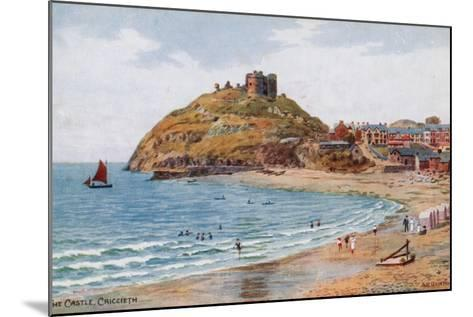 The Castle, Criccieth-Alfred Robert Quinton-Mounted Giclee Print