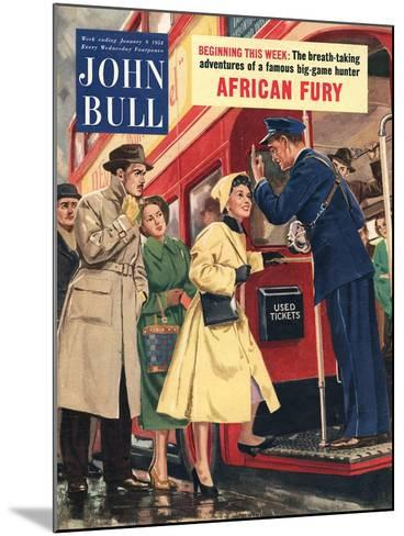 Front Cover of 'John Bull', January 1954--Mounted Giclee Print
