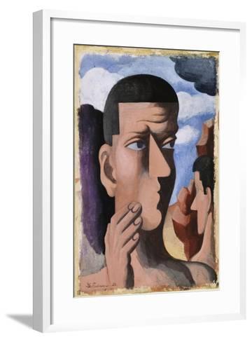 Castor and Pollux, 1922-Roger de La Fresnaye-Framed Art Print