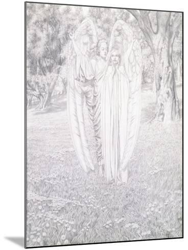 Two Angels, 1904-Carlos Schwabe-Mounted Giclee Print