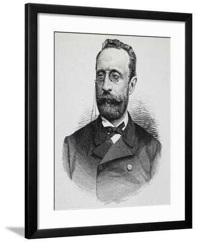 Portrait of Paolo Boselli--Framed Art Print