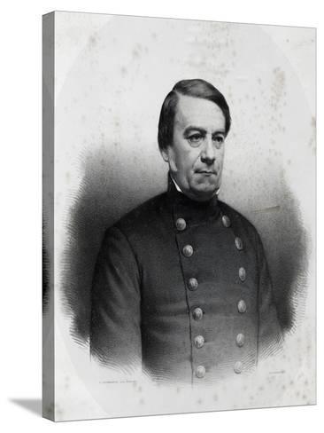 Portrait of Jose Maria Paz Y Haedo--Stretched Canvas Print