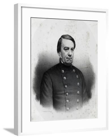Portrait of Jose Maria Paz Y Haedo--Framed Art Print