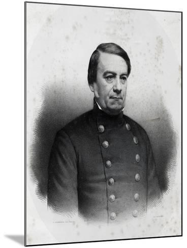 Portrait of Jose Maria Paz Y Haedo--Mounted Giclee Print