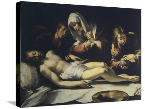 Deposition, by Antonio Semino--Stretched Canvas Print