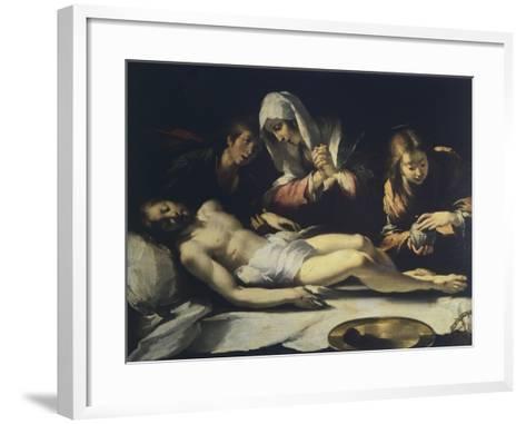 Deposition, by Antonio Semino--Framed Art Print