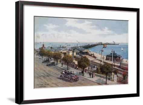 The Pier, Ryde, I of Wight-Alfred Robert Quinton-Framed Art Print
