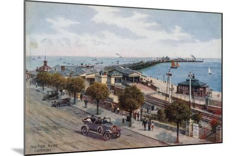 The Pier, Ryde, I of Wight-Alfred Robert Quinton-Mounted Giclee Print