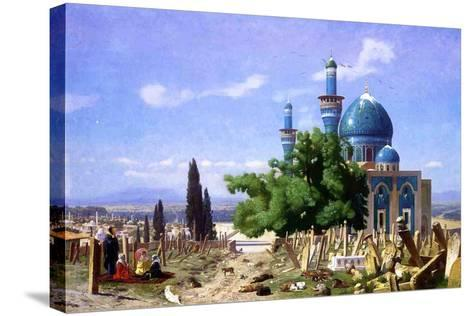 An Abandoned Graveyard, 1876-Jean Leon Gerome-Stretched Canvas Print