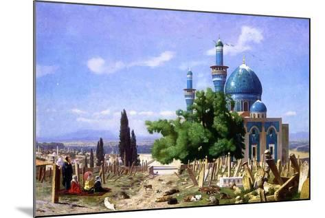 An Abandoned Graveyard, 1876-Jean Leon Gerome-Mounted Giclee Print
