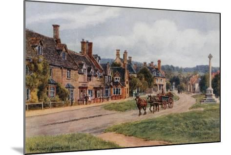 Broadway, Worcs-Alfred Robert Quinton-Mounted Giclee Print