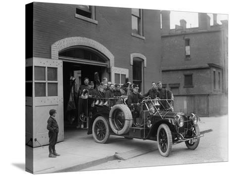 Packard Fire Squad, 1911--Stretched Canvas Print