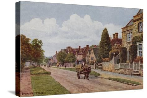 Broadway, Worcestershire-Alfred Robert Quinton-Stretched Canvas Print