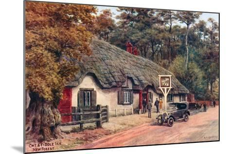 Cat and Fiddle Inn, New Forest-Alfred Robert Quinton-Mounted Giclee Print