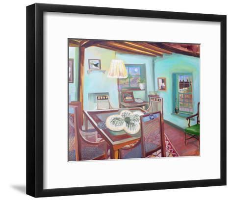 Monk's House - Dining Room-Lottie Cole-Framed Art Print