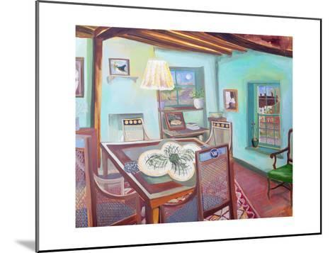 Monk's House - Dining Room-Lottie Cole-Mounted Photographic Print