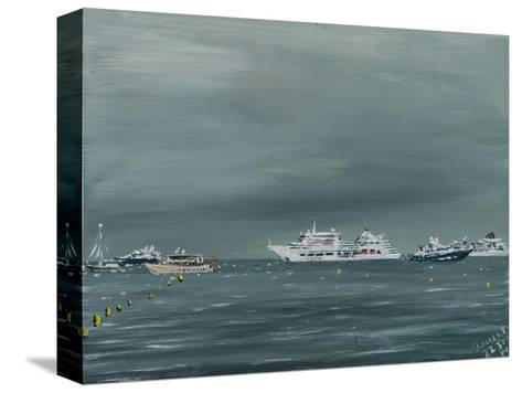Ships and Boats at Cannes 2014-Vincent Alexander Booth-Stretched Canvas Print