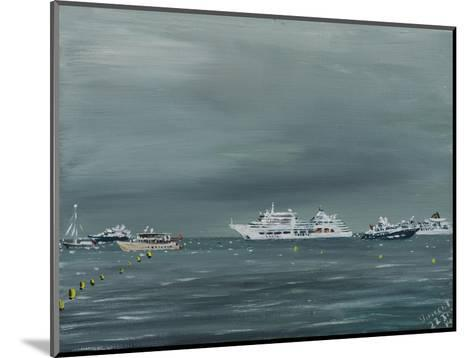 Ships and Boats at Cannes 2014-Vincent Alexander Booth-Mounted Photographic Print