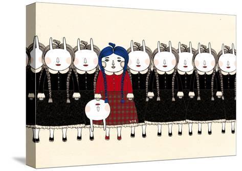 Beginning, 2013-Yoyo Zhao-Stretched Canvas Print
