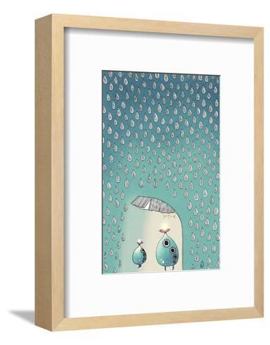 April Shower, 2012-Yoyo Zhao-Framed Art Print