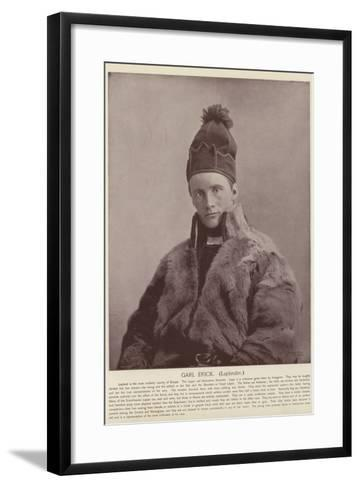 Garl Erick, Laplander--Framed Art Print